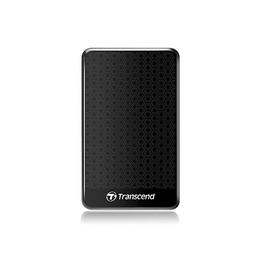 """Внешний жесткий диск 1 TB Transcend StoreJet 25A3 Black (2.5"""", USB2.0/USB3.0, противоударный)"""
