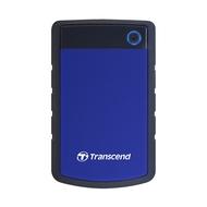 """Внешний жесткий диск 1 TB Transcend StoreJet Portable H3 Blue (2.5"""", USB3.0, противоударный)"""