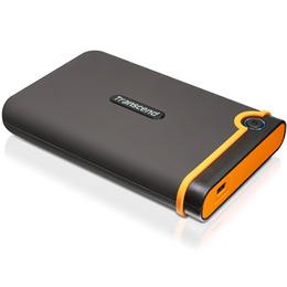 """Внешний жесткий диск 1 TB Transcend StoreJet 25M3 (2.5"""", USB3.0, резиновый, противоударный)"""