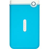 """Внешний жесткий диск 1 TB Transcend StoreJet 25M3 Blue (2.5"""", USB3.0, резиновый, противоударный)"""