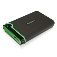 """Внешний жесткий диск 1 TB Transcend StoreJet 25M3E Military Green (2.5"""", USB3.1, р0езиновый, противоударный)"""