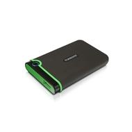 """Внешний жесткий диск 1 TB Transcend StoreJet 25MC Black (2.5"""", USB3.0, резиновый, противоударный)"""