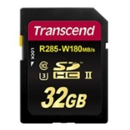 SDHC 32Гб Transcend Класс 10 UHS-II U3 Ultimate