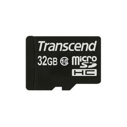MicroSDHC 32Гб Transcend Класс 10 (без адаптера)