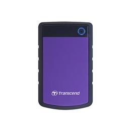 """Внешний жесткий диск 3 Тб Transcend StoreJet 25H3 Black Purple (2.5"""", USB3.0, прорезиненный корпус)"""
