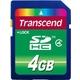 SDHC 04Gb Transcend Класс 4