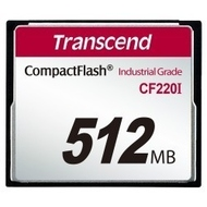 Compact Flash 512MB Transcend 220X Industrial