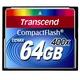 Compact Flash 64Гб Transcend 400X