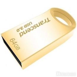 Флешка USB 3.0 Transcend Jetflash 710 64 гб Gold