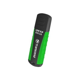 Флешка USB 3.0 Transcend Jetflash 810 64 гб Black Green