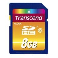 SDHC 08Гб Transcend Класс 10