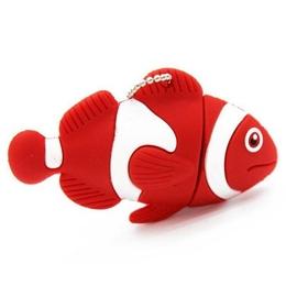 Оригинальная подарочная флешка Present ANIMAL01 128GB Red (рыбка)