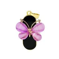 Оригинальная подарочная флешка Present ANIMAL37 32GB (розовая бабочка)