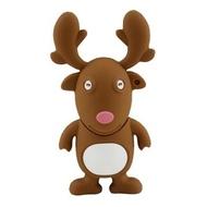 Оригинальная подарочная флешка Present ANIMAL60 64GB (олень из упряжки Санта Клауса, без блистера)