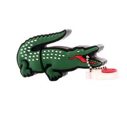 Оригинальная подарочная флешка Present ANIMAL66 128GB (крокодил lacoste)