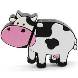 Оригинальная подарочная флешка Present ANIMAL85 128GB (корова)