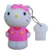 Оригинальная подарочная флешка Present ANIMAL09 16GB (флешка кошечка с бантиком)