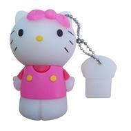 Оригинальная подарочная флешка Present ANIMAL09 64GB (флешка кошечка с бантиком)