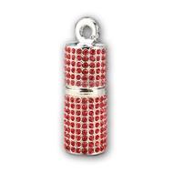 Оригинальная подарочная флешка Present ART93 32GB Red (помада для губ, со стразами)