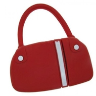 Оригинальная подарочная флешка Present BAG07 128GB Red (сумка с молнией, без блистера)