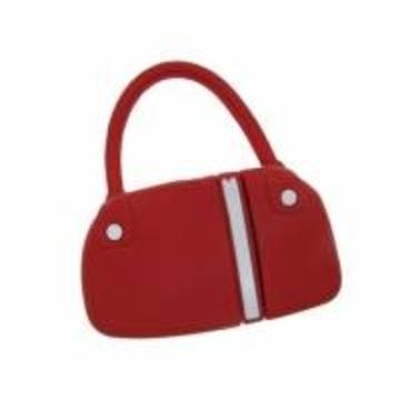 Оригинальная подарочная флешка Present BAG07 04GB Red (сумка с молнией)