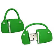 Оригинальная подарочная флешка Present BAG07 64GB Green (сумка с молнией, без блистера)