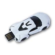 Оригинальная подарочная флешка Present CAR17 04GB White (Спортивный автомобиль)