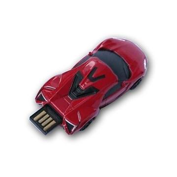 Оригинальная подарочная флешка Present CAR17 16GB Red (Спортивный автомобиль)