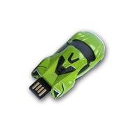 Оригинальная подарочная флешка Present CAR17 08GB Green (Спортивный автомобиль, без блистера)
