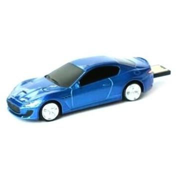 Оригинальная подарочная флешка Present CAR19 04GB Blue (Спортивный автомобиль)