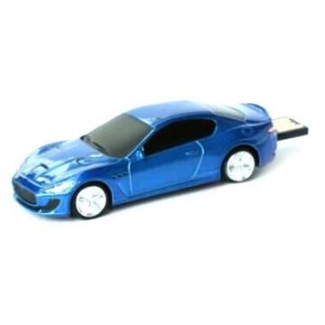 Оригинальная подарочная флешка Present CAR19 16GB Blue (Спортивный автомобиль)