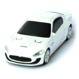 Оригинальная подарочная флешка Present CAR19 16GB White (Спортивный автомобиль)