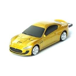Оригинальная подарочная флешка Present CAR19 64GB Yellow (Спортивный автомобиль)