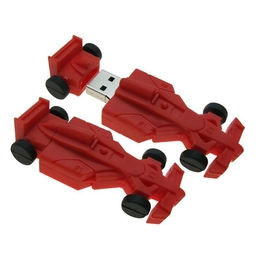 Оригинальная подарочная флешка Present CAR24 4GB Red (гоночный болид Formula-1)