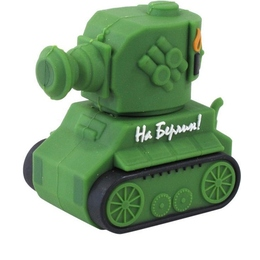 Оригинальная подарочная флешка Present CAR30 128GB Green (танк)
