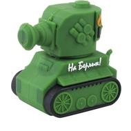 Оригинальная подарочная флешка Present CAR30 64GB Green (танк)