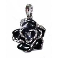 Оригинальная подарочная флешка Present FLW05 16GB Black (разноцветные розы без стебля и камнями на лепестках)