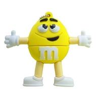 Оригинальная подарочная флешка Present FOOD01 128GB Yellow (фигурка m&m)