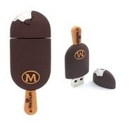 Оригинальная подарочная флешка Present FOOD05 32GB (флешка-мороженое эскимо, пломбир)
