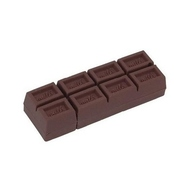 Оригинальная подарочная флешка Present FOOD11 64GB (шоколадная флешка, плитка настоящего швейцарского молочного шоколада)