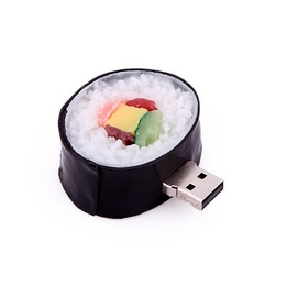 Оригинальная подарочная флешка Present FOOD14 32GB (суши ролл)