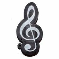 Оригинальная подарочная флешка Present GTR08 04GB (скрипичный ключ)