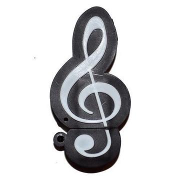 Оригинальная подарочная флешка Present GTR08 16GB (скрипичный ключ)