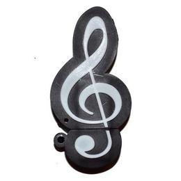 Оригинальная подарочная флешка Present GTR08 64GB (скрипичный ключ)