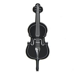 Оригинальная подарочная флешка Present GTR09 16GB Black (флешка-виолончель черная, без блистера)