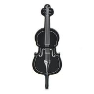 Оригинальная подарочная флешка Present GTR09 64GB Black (флешка-виолончель черная)