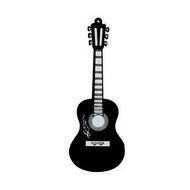 Оригинальная подарочная флешка Present GTR10 128GB Black (флешка-гитара черная)