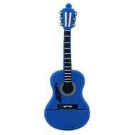 Оригинальная подарочная флешка Present GTR10 128GB Blue (флешка-гитара синяя)