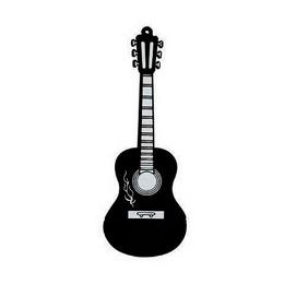 Оригинальная подарочная флешка Present GTR10 04GB Black (флешка-гитара черная)