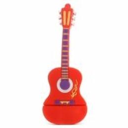 Оригинальная подарочная флешка Present GTR10 04GB Red (флешка-гитара красная)